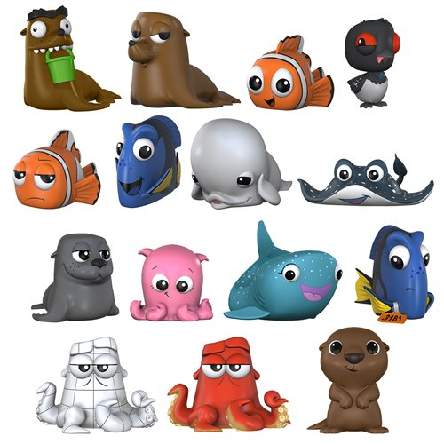 FINDING DORY 12 PC PDQ (VFIG) by FUNKO MYSTERY MINI: