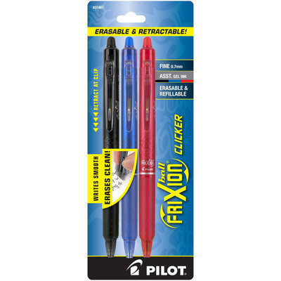Pilot FriXion Clicker Erasable Gel Pens