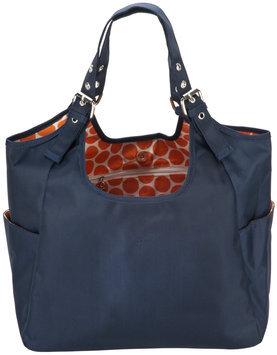 JP Lizzy Navy Mandarin Satchel Diaper Bag