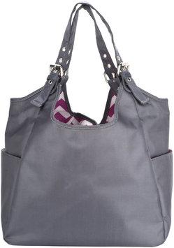 JP Lizzy Satchel Diaper Bag - Graphite Blush (Nylon)