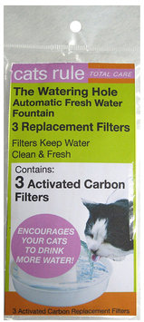 Cats Rule Automatic Fresh Water Fountain Replacement Filters