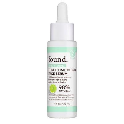 FOUND Brightening Three Lime Blend Face Serum