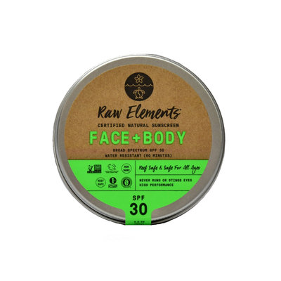 Raw Elements Face + Body 30+ Tin
