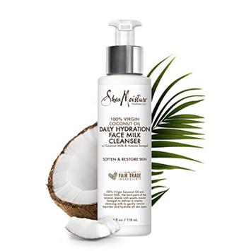 SheaMoisture 100% Virgin Coconut Oil Daily Hydration Face Milk Cleanser