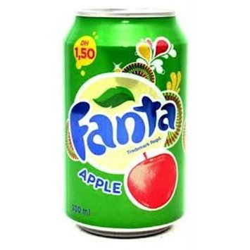 Fanta Green Apple Soda