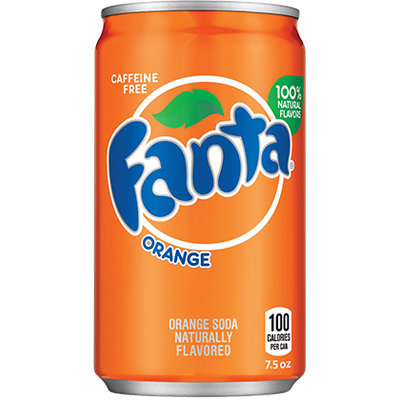 Fanta Orange Soda Soft Drink