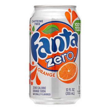 Fanta Zero Orange Soda