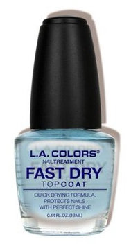 L.A. Colors Fast Dry Top Coat Treatment