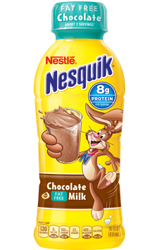 Nesquik® Chocolate Ready-to-Drink Fat Free Milk