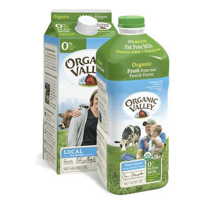 Organic Valley® Fat Free Skim Milk, Pasteurized
