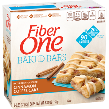 Fiber One 90 Calorie Cinnamon Coffee Cake