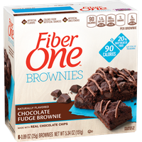 Fiber One 90 Calorie Chocolate Fudge Brownies