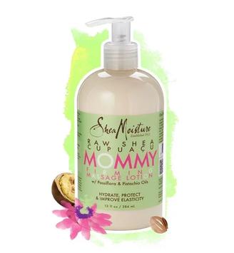 SheaMoisture Raw Shea Cupuaçu Mommy Firming Massage Lotion