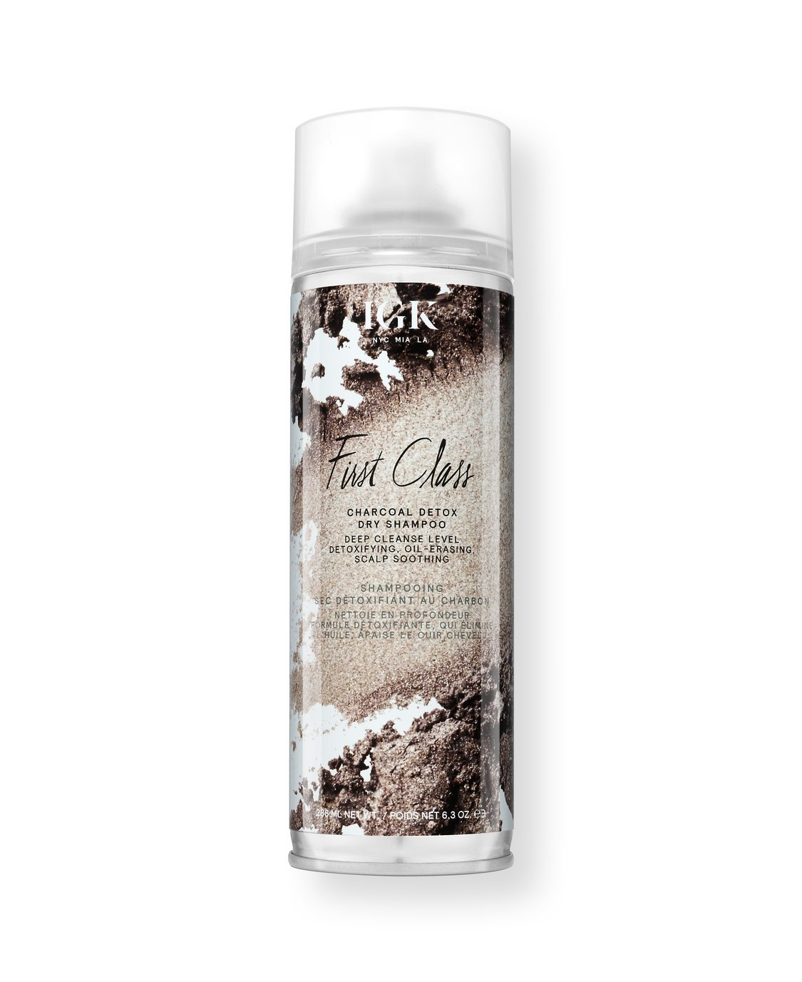 IGK First Class Charcoal Detox Dry Shampoo