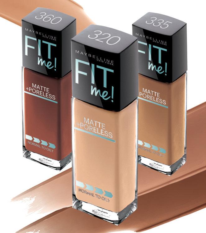 Slide: Maybelline Fit Me® Foundation