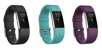 Fitbit Charge 2 Heart Rate & Fitness Wristband