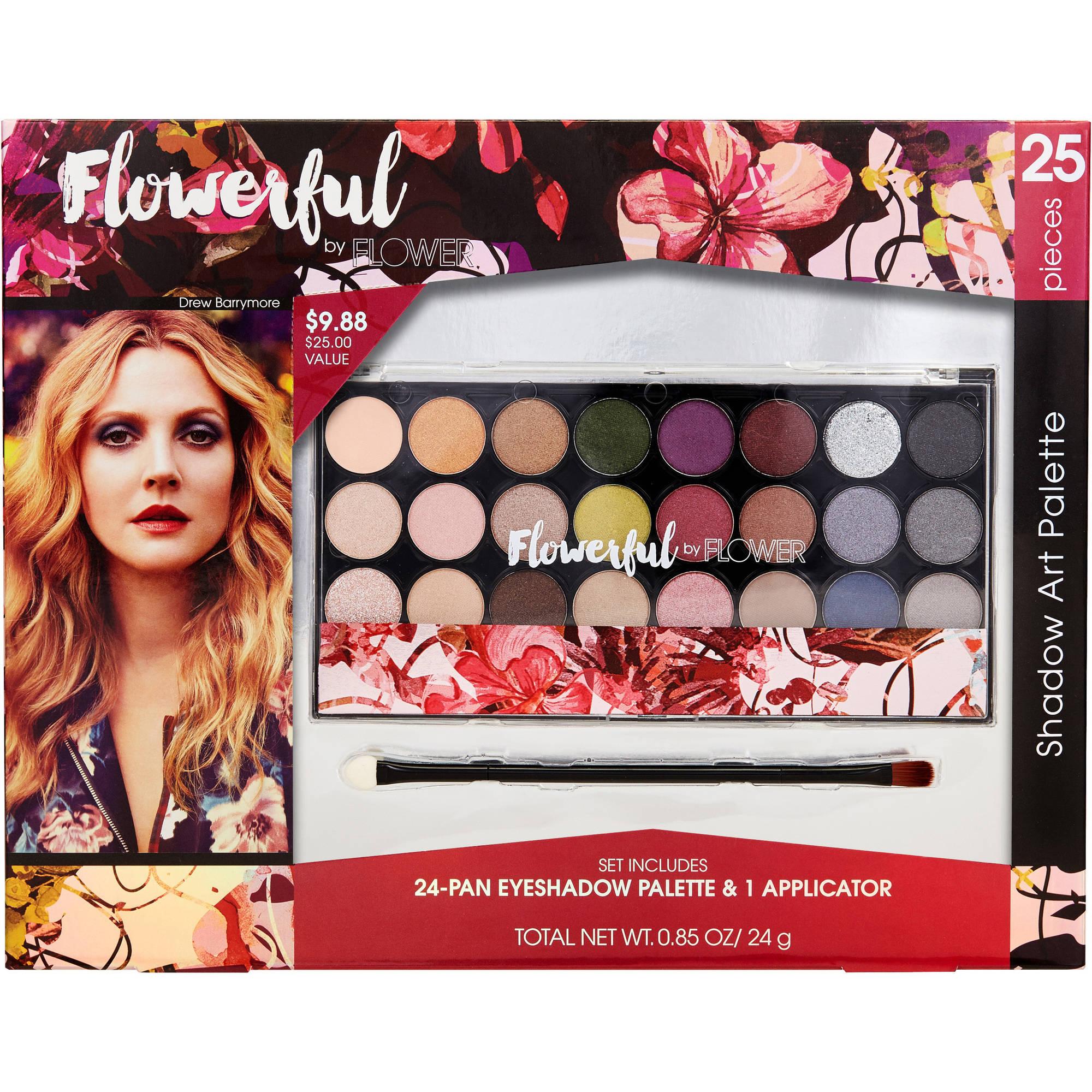 Flowerful by FLOWER Beauty Shadow Art Palette