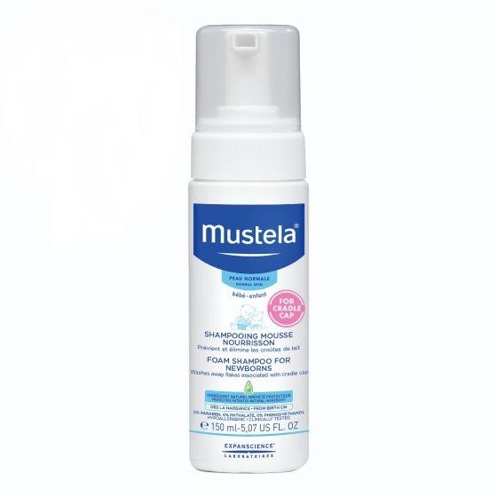 Mustela® Foam Shampoo for Newborns