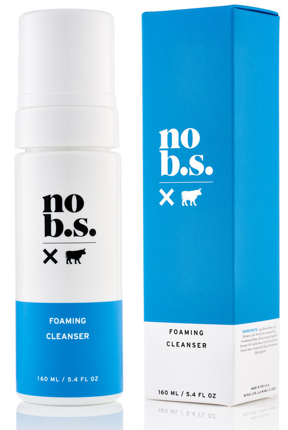 No B.S. Skincare Gentle Foaming Face Wash