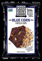 Food Should Taste Good Blue Corn Tortilla Chips