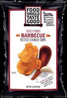 Food Should Taste Good Kettle Cooked Barbeque Sweet Potato Chips