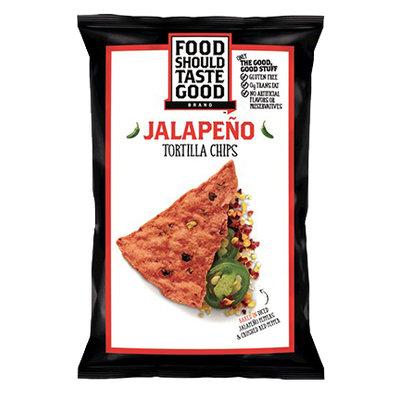 Food Should Taste Good Jalapeño Tortilla Chips