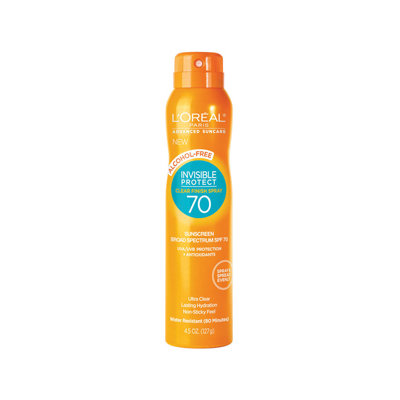 L'Oréal Paris Advanced Suncare Alcohol-Free Clear Spray SPF 70
