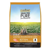 Canidae Grain Free Pure Foundations Kitten Food, 4 lbs.