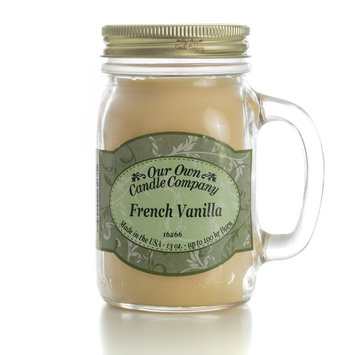Our Own Candle Company French Vanilla Mason Jar Candle
