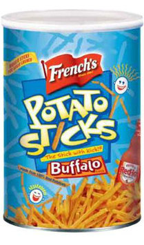 French's Buffalo Flavor Potato Sticks