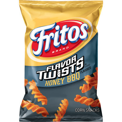 Fritos® FLAVOR TWISTS® Honey BBQ Flavored Corn Chips