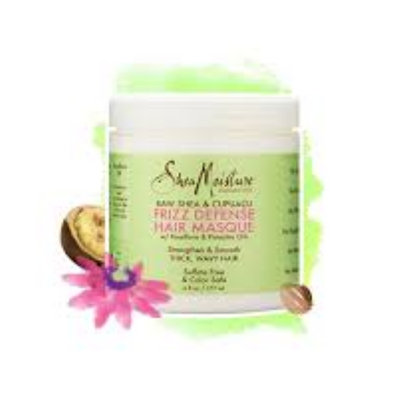 SheaMoisture Raw Shea & Cupuaçu Frizz Defense Hair Masque