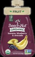 Beech-Nut® Stage 2 Organic Banana, Blueberry & Avocado