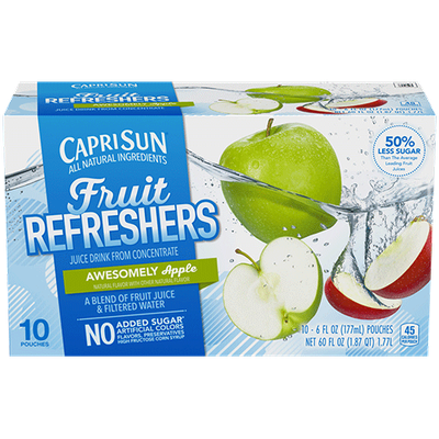 Capri Sun® Fruit Refreshers Awesomely Apple Juice Drink