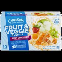 Capri Sun® Fruit & Veggie Blends Berry Carrot Blast Juice Drink