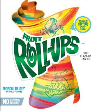 Fruit Roll-Ups™ Tropical Tie-Dye Fruit Flavored Snacks