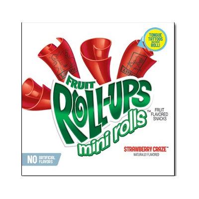 Fruit Roll-Ups™ Mini Rolls Strawberry Craze Fruit Flavored Snacks