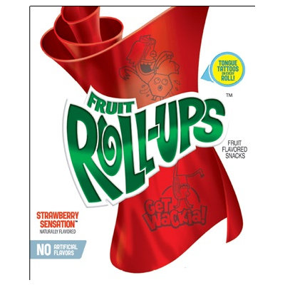 Fruit Roll-Ups™ Simply Strawberry Fruit Flavored Snacks