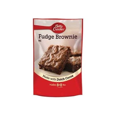 Betty Crocker™ Fudge Pouch Brownie Mix