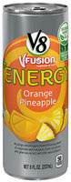 V8® V-Fusion® +Energy Orange Pineapple Vegetable & Fruit Juice