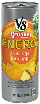 V8® V-Fusion® +Energy Orange Pineapple Vegetable & Fruit Juice