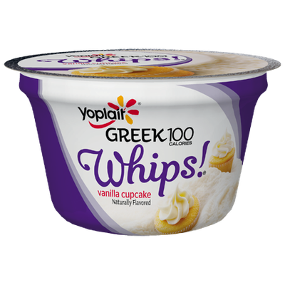 Yoplait® Greek 100 Calories Whips!® Vanilla Cupcake Fat Free Yogurt Mousse