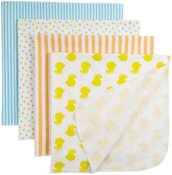 Gerber 4 Pack Flannel Blanket - Green - 1 ct.
