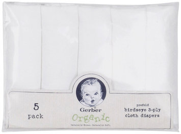 Gerber® Birdseye Prefold Organic Cloth Diapers