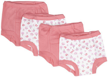 Gerber 4 Pack Training Pants (Baby) - Pink