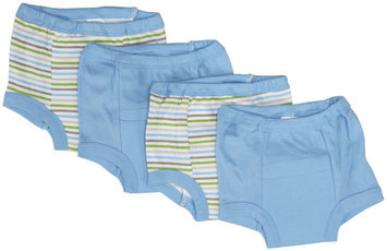 Gerber 4 Pack Training Pants (Baby) - Blue