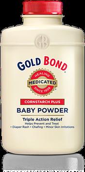 GOLD BOND® Medicated Cornstarch Plus Baby Powder
