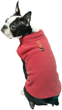 Gooby 72106-RED-S Fleece Vest Red Small