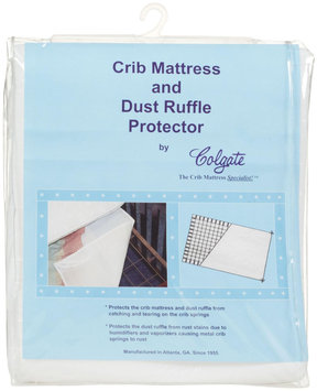 Colgate Mattress Atlanta Corp Colgate Crib Mattress and Dust Ruffle Protector - White