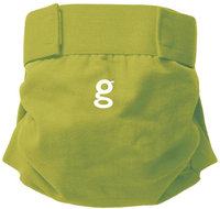 gDiapers Little gPant Guppy Green
